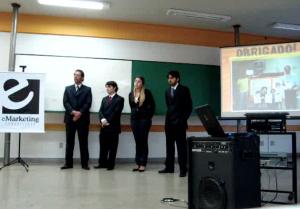 Pablo Miranda, Hélio Lopes, Cleonice Dourado e Roberto Machado