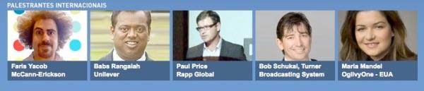 palestrantes internacionais